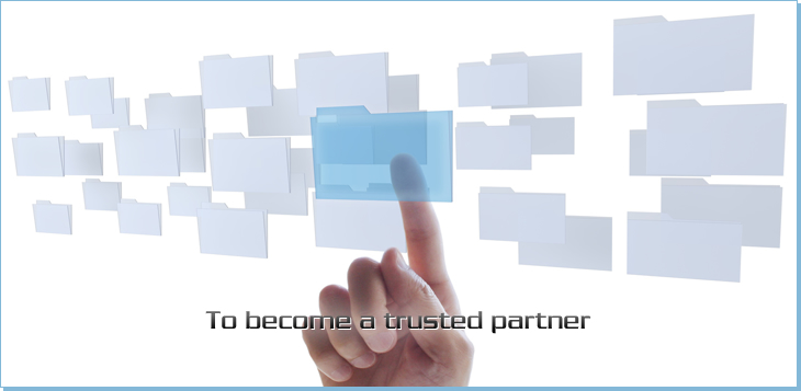To become a trusted partner